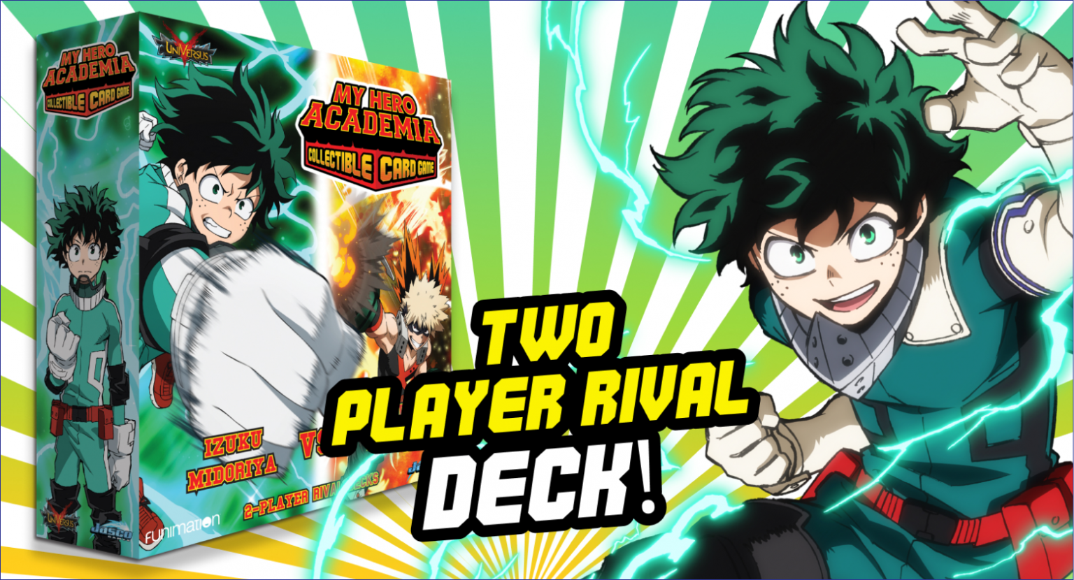 Two player rival deck